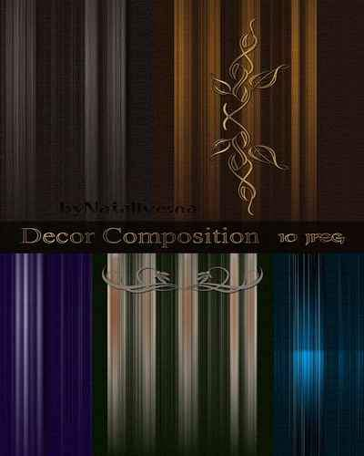 Textures - Decor Composition ( free textures, free download )