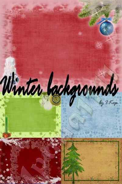 Winter backgrounds & Christmas backgrounds ( free backgrounds, free download )