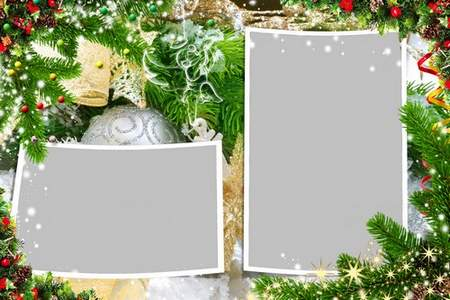 Photo frame psd - Do not be sad in the new year