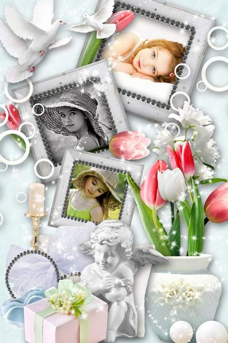 psd photo frames for Photoshop - Tenderness