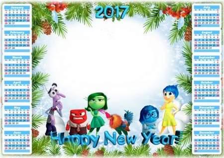 Free Calendar psd for 2017 download