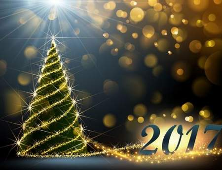 New Year backgrounds psd