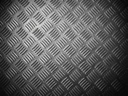Collection of metal ribbed texture