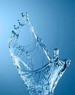 Water splashes raster graphics -2