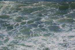 The stormy waters