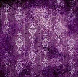Set of different textures of purple