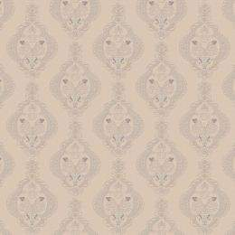 Textures for Photoshop - Beige damask pattern ( free textures, free download )