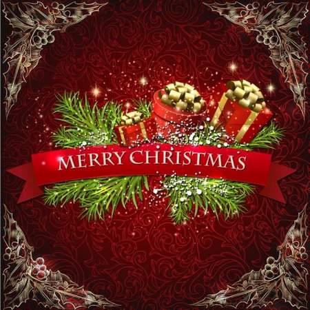 Merry Christmas psd source