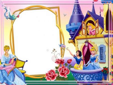 Frames for Girls - Visiting Fairy Tales