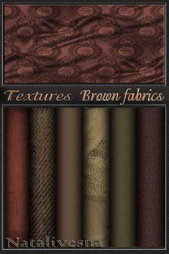 Textures brown fabric for Photoshop ( free textures, free download )