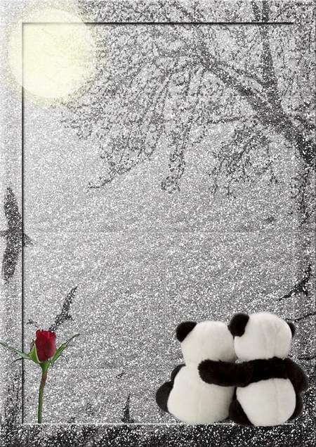 Romantic Frame for Photo - Tenderness