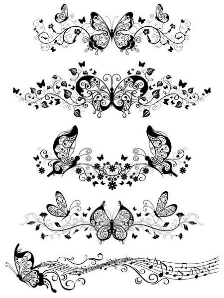 Butterfly - creative brushes for Photoshop