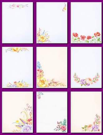 Flower Backgrounds download - Delicate backgrounds png with flowers (free 21 flower backgrounds png, free download