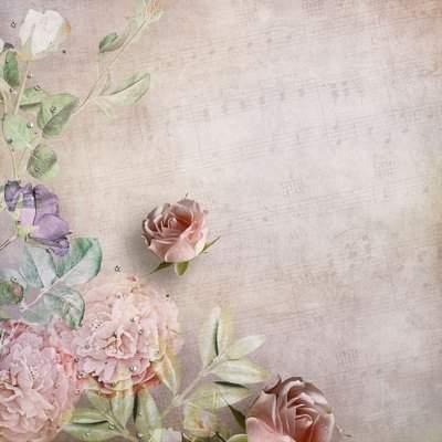 Wedding Roses (retro backgrounds)