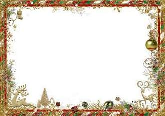 2017 Christmas Photo frame for a group photo ( free 2 photo frames psd + free 7 photo frames png, free download )