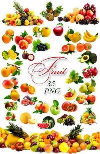 Fresh Fruit png images on a transparent background ( free 35 png images HQ, ~ 3600 x 9700 px, rar 517 mb, free download )