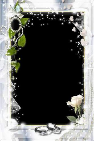 Wedding Photoframe - Love and Joy for Two