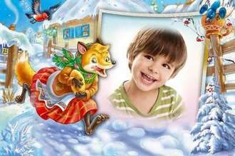 Children's photo frame download ( free photo frame psd, free download )