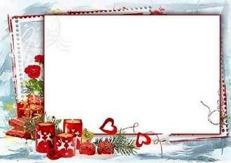 Winter Photo frame download ( free winter photo frame psd, free 6 photo frames png, free download )