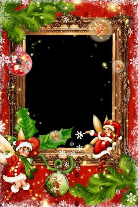 Photo Frame - Christmas Fairy