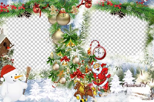 Christmas framework - Happy Christmas!