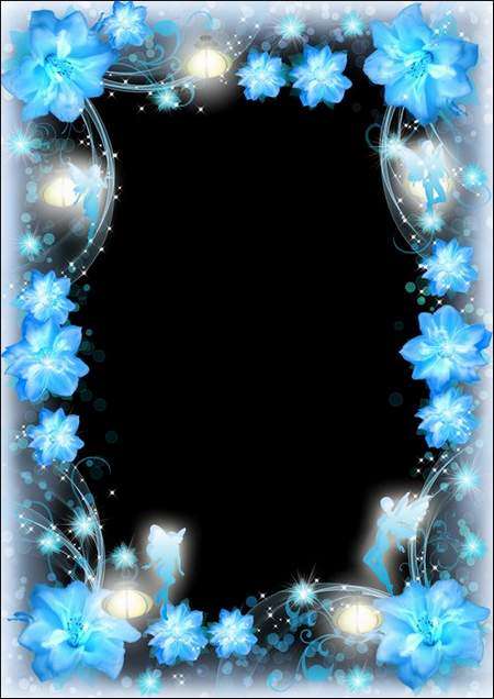 Photo frames - Dancing fairies and flowers