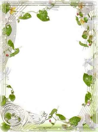 Flower Frame for Photoshop - Magic of Orchids number 2 ( free photo frame psd, free download )