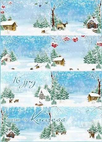 Winter backgrounds download - Winter's tale backgrounds ( free backgrounds, 16 jpg, 4961 x 3508 px, free download )