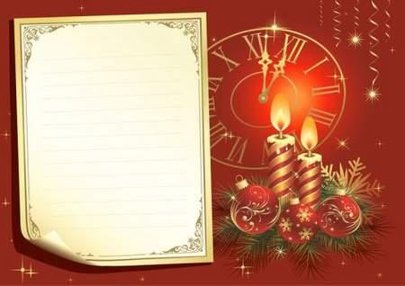 Christmas PSD source for Photoshop