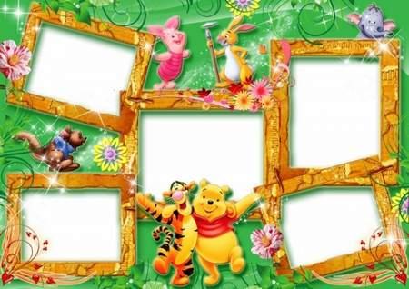 Frames for photos - Heroes of cartoon films ( free 2 photo frames ...