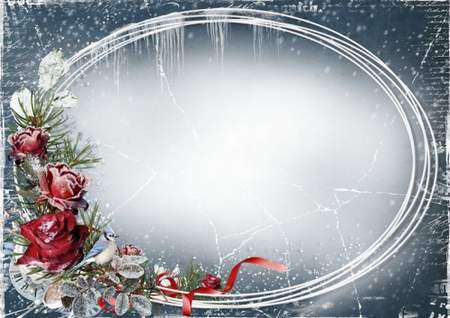 Winter photo frame download ( free Winter photo frame psd + free Winter 5 photo frames png, free download )