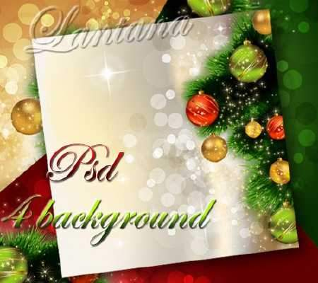 Christmas psd background