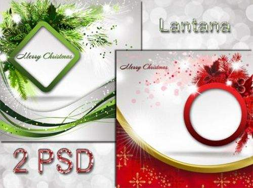 PSD source - Christmas Collection № 17