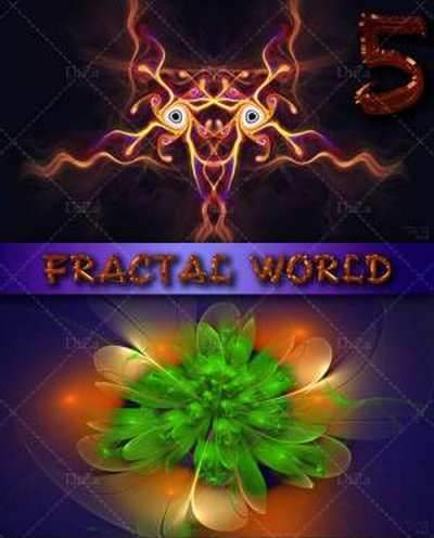 Fractal World backgrounds ( free 15 Fractal backgrounds, free download )