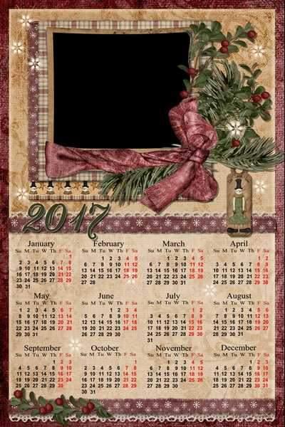 2017 Calendar png download ( free 2017 Calendar frame png, free download )