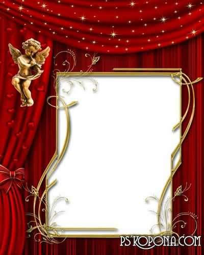 Festive frames for Valentine's Day free 20 photo frames png download