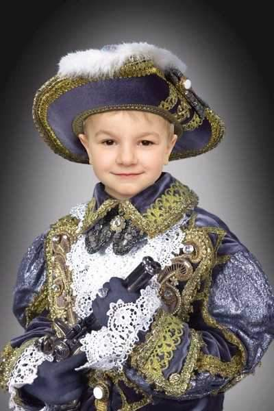 Photoshop Template  - historical clothing of the boy in the hat