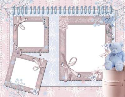 Baby girl photo frame download - Tenderness