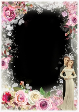 Set wedding framework for photoshop Part 4 ( free wedding photo frames png, free download )