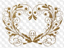 Clipart png for Photoshop - Elements for the design of frames png