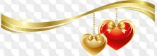 Clipart it is red - gold - the Beautiful romanticism...