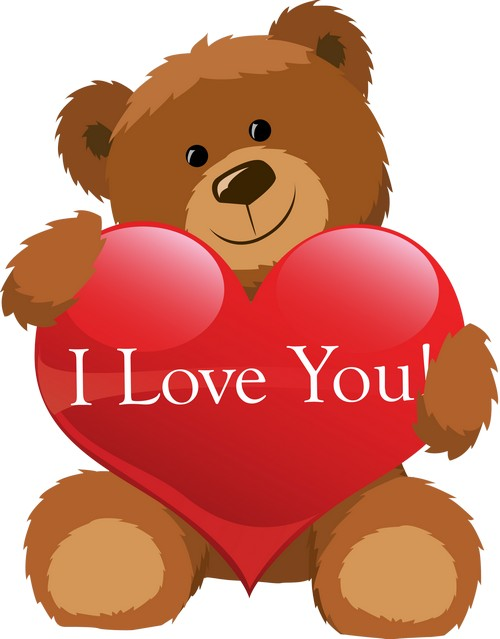 Clipart for Photoshop - Toys for Valentine's Day