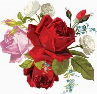clipart red roses png online download » photoshopkopona, Beautiful flower