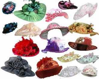 Women's hats psd for Photoshop download ( free 5 psd, 97 items )