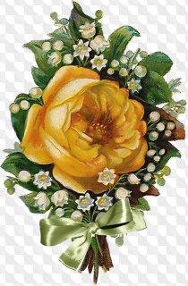 PNG Images Vintage Flowers