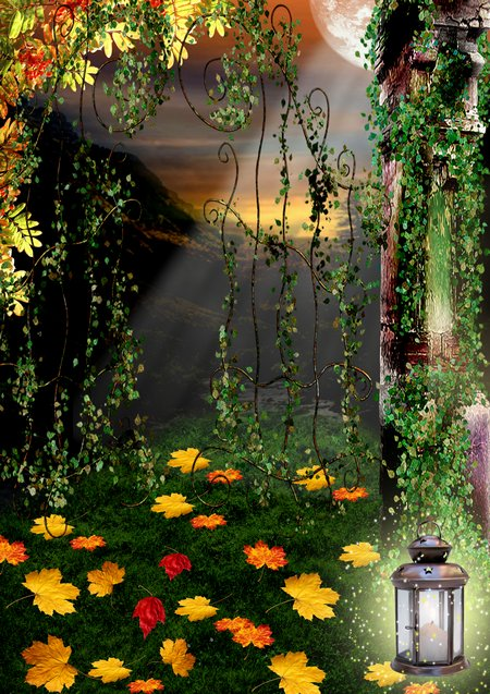 Nature background psd download - free 4 psd, Spring psd