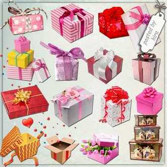 Gift boxes png