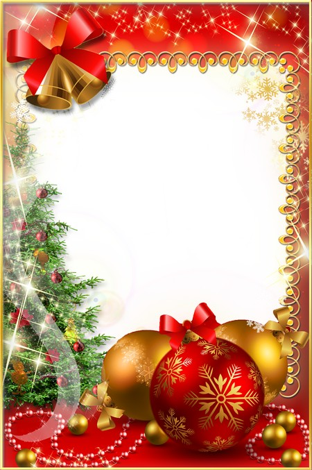 Christmas Photoframe - Long-awaited Holiday ( free Christmas photo ...