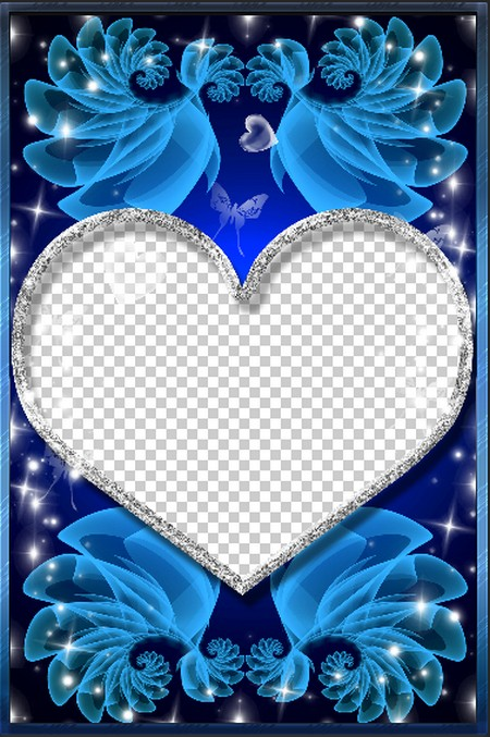 Romantic Frame for Lovers - My Another Half ( frame png, frame psd ...