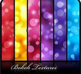 Bokeh Textures - Glare, light, flicker ( free 16 Bokeh Textures download )